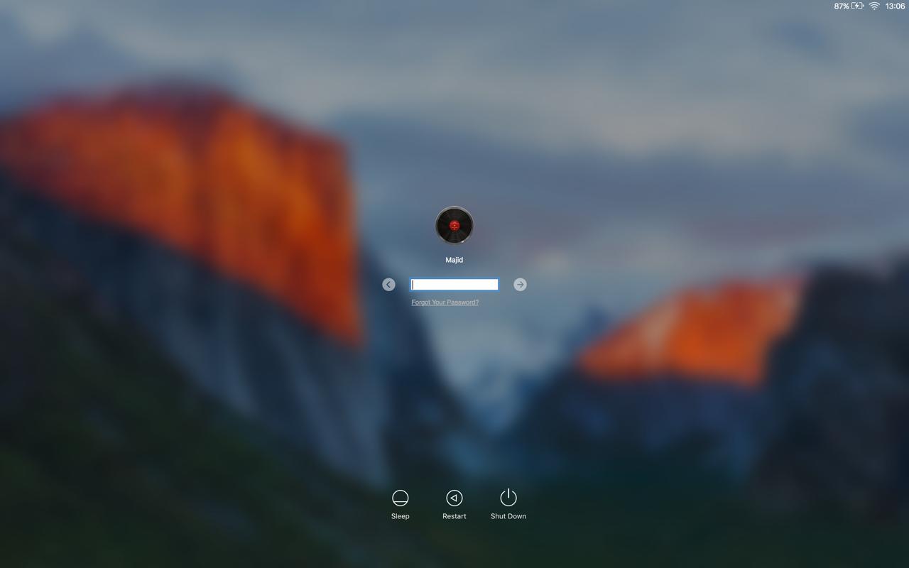 Mac screen shot