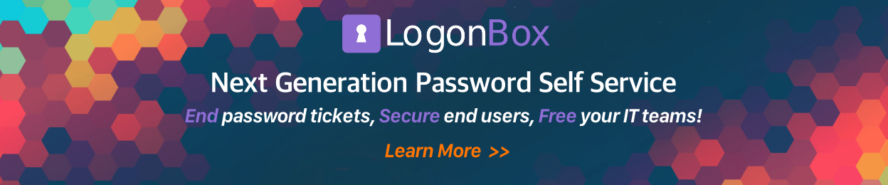 LogonBox Password Self Service