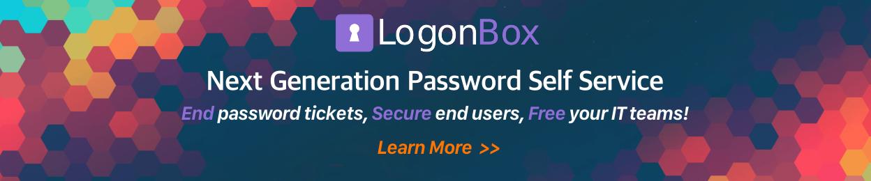 LogonBox Password Self Service