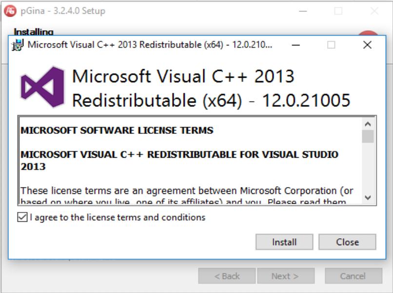 Virtual C++ Redistributable Prompt